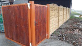 Fotogalerie ze stavby plotů
